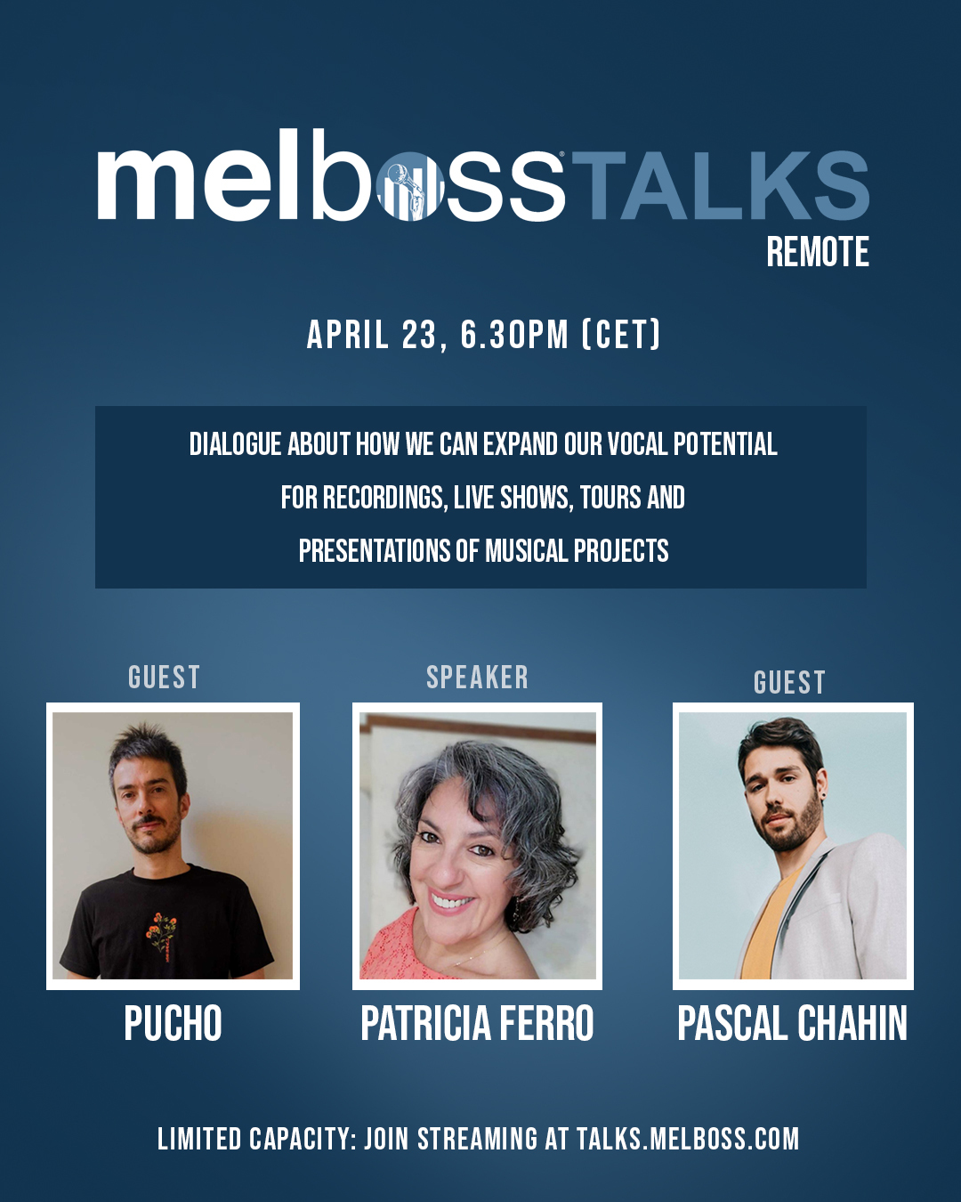 Melboss Talks in streaming