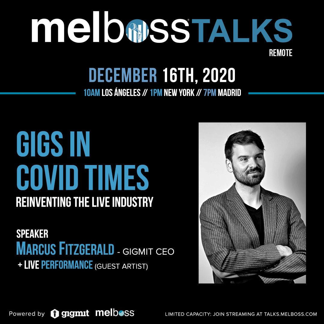 Gigs in COVID times - reinventing the live industry